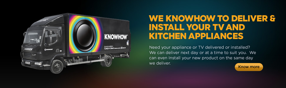Need your appliance or TV delivered or installed? We can deliver next day or at a time to suit you. We can even install your new product on the same day we deliver
